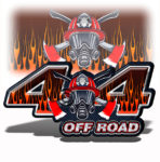 Fire Fighter 4x4 Truck Off Road Decal