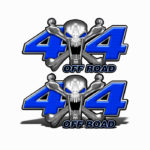 Mk405OR4-4x4-Off-Road-Stainless-Steal-skull-Head-Dark-Blue