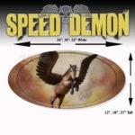 5th Wheel Trailer Graphics-Pegasus Oval