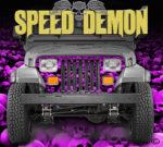Jeep Grill Wraps Skulls Pink Camo