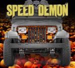 Jeep Grill Wraps Skulls Skull