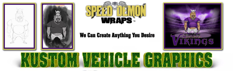 Caricature Vehicle Graphics Custom Caricatures Wraps
